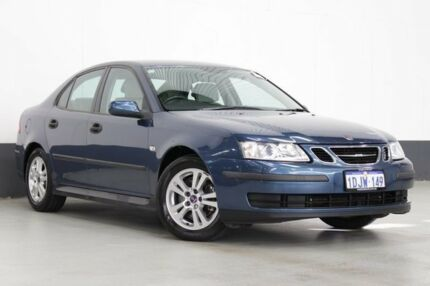 2006 Saab 9-3 MY06 ARC 2.0T Blue 5 Speed Automatic Sedan Bentley Canning Area Preview