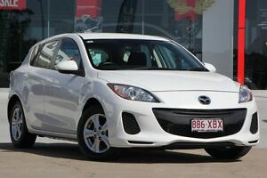 2012 Mazda 3 BL10F2 Neo White 6 Speed Manual Hatchback Kippa-ring Redcliffe Area Preview
