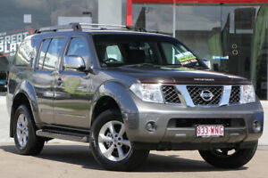 2009 Nissan Pathfinder R51 MY08 ST-L Grey 5 Speed Sports Automatic Wagon Kippa-ring Redcliffe Area Preview