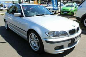 2003 BMW 325i E46 MY2003 Steptronic Silver 5 Speed Sports Automatic Sedan West Footscray Maribyrnong Area Preview