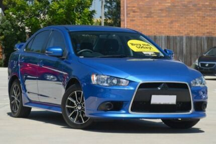 2015 Mitsubishi Lancer CJ MY15 ES Sport Blue 5 Speed Manual Sedan Toowoomba Toowoomba City Preview