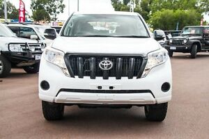 2015 Toyota Landcruiser Prado KDJ150R MY14 GX White 5 Speed Sports Automatic Wagon Wilson Canning Area Preview