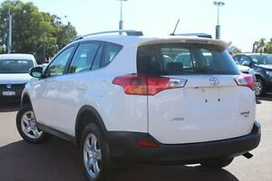 2015 Toyota RAV4 ASA44R MY14 GX AWD White 6 Speed Sports Automatic Wagon Westminster Stirling Area Preview