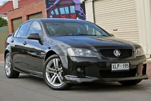 2006 Holden Commodore VE SV6 Black 5 Speed Sports Automatic Sedan Glenelg Holdfast Bay Preview