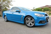 2014 Holden Ute VF MY15 SV6 Ute Blue 6 Speed Sports Automatic Utility Nailsworth Prospect Area Preview