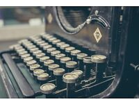 Audio Transcription | Typing | Lamination | Screenplay formatting
