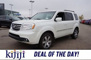 2014 Honda Pilot 4WD TOURING Navigation (GPS),  Leather,  Sunroo