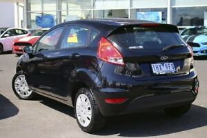 2016 Ford Fiesta WZ Ambiente PwrShift Panther Black 6 Speed Sports Automatic Dual Clutch Hatchback