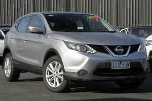 2014 Nissan Qashqai J11 ST Silver 1 Speed Constant Variable Wagon Knoxfield Knox Area Preview