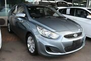 2017 Hyundai Accent RB6 MY18 Sport Lake Silver 6 Speed Sports Automatic Hatchback Slacks Creek Logan Area Preview