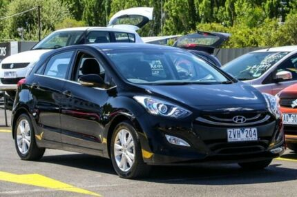 2013 Hyundai i30 GD MY14 Elite Black 6 Speed Sports Automatic Hatchback Ringwood East Maroondah Area Preview