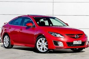 2009 Mazda 6 GH1051 MY09 Luxury Sports Red 6 Speed Manual Hatchback Pakenham Cardinia Area Preview