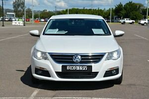 2009 Volkswagen Passat Type 3CC MY10 V6 FSI DSG 4MOTION CC White 6 Speed Broadmeadow Newcastle Area Preview