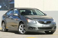 2012 Holden Cruze JH MY12 Equipe Grey 6 Speed Automatic Sedan Wolli Creek Rockdale Area Preview