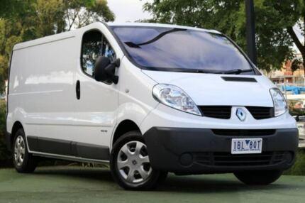 2014 Renault Trafic X83 Phase 3 Low Roof White 6 Speed Manual Van