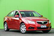 2011 Holden Cruze JG CD Red 6 Speed Sports Automatic Sedan Ringwood East Maroondah Area Preview