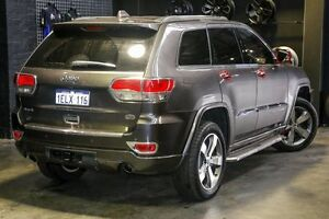 2014 Jeep Grand Cherokee WK MY15 Overland Grey 8 Speed Sports Automatic Wagon