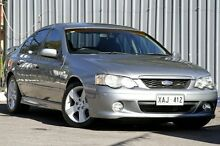 2003 Ford Falcon BA XR6 Turbo Mercury Silver 4 Speed Sports Automatic Sedan Enfield Port Adelaide Area Preview
