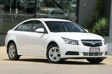 2010 Holden Cruze JG CD White 6 Speed Sports Automatic Sedan Moorooka Brisbane South West Preview