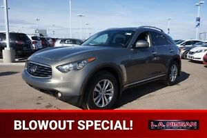 2010 INFINITI FX35 ALL WHEEL DRIVE Navigation (GPS),  Rear DVD,