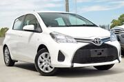 2016 Toyota Yaris NCP130R Ascent Glacier White 4 Speed Automatic Hatchback Blacktown Blacktown Area Preview