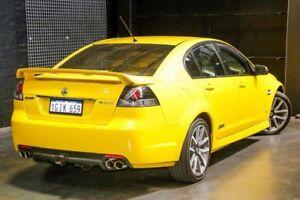 2011 Holden Commodore VE II SS V Hazard Yellow 6 Speed Sports Automatic Sedan