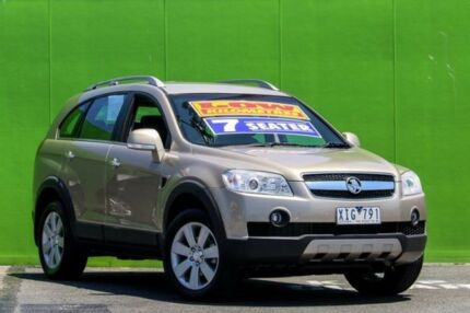 2009 Holden Captiva CG MY09 LX AWD Gold 5 Speed Sports Automatic Wagon Ringwood East Maroondah Area Preview