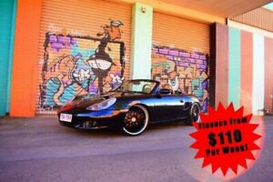 1997 Porsche Boxster 986 Convertible 2dr Man 5sp 2.5i Black Manual Convertible South Toowoomba Toowoomba City Preview