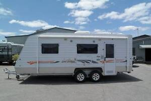 2010 WINDSOR GENESIS 21' SHOWER/TOILET SINGLE BEDS $33,990 Barragup Murray Area Preview
