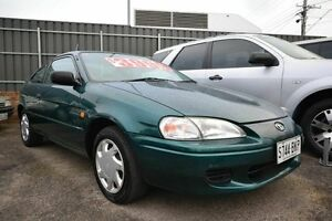 1997 Toyota Paseo EL54R Green 4 Speed Automatic Coupe Blair Athol Port Adelaide Area Preview