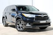 2016 Toyota Kluger GSU50R GXL 2WD Black 8 Speed Sports Automatic Wagon Liverpool Liverpool Area Preview