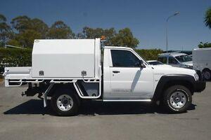2013 Nissan Patrol Y61 GU 6 SII MY13 DX Polar White 5 Speed Manual Cab Chassis Acacia Ridge Brisbane South West Preview