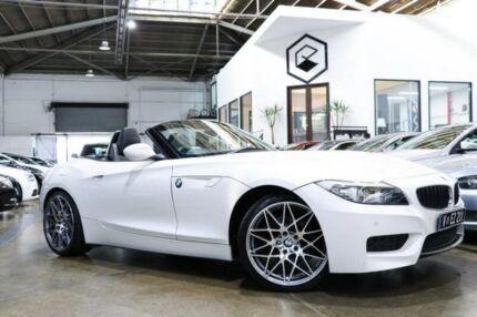 2013 BMW Z4 White Sports Automatic Roadster Port Melbourne Port Phillip Preview