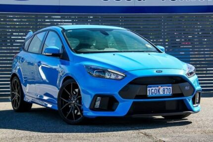 2017 Ford Focus LZ RS AWD Blue 6 Speed Manual Hatchback Maddington Gosnells Area Preview