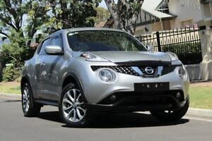 2016 Nissan Juke F15 Series 2 ST X-tronic 2WD Silver 1 Speed Constant Variable Hatchback Nailsworth Prospect Area Preview