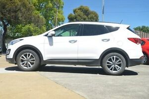 2014 Hyundai Santa Fe DM MY14 Elite White 6 Speed Sports Automatic Wagon Hillcrest Port Adelaide Area Preview