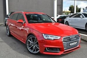 2016 Audi A4 B9 F4 MY16 sport Avant S tronic quattro Red 7 Speed Sports Automatic Dual Clutch Wagon Burwood Whitehorse Area Preview