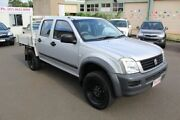 2004 Holden Rodeo RA LX Crew Cab Silver 5 Speed Manual Utility Toowoomba Toowoomba City Preview