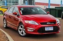 2014 Ford Mondeo MC Titanium PwrShift EcoBoost Red 6 Speed Sports Automatic Dual Clutch Hatchback East Rockingham Rockingham Area Preview