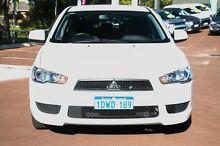 2012 Mitsubishi Lancer CJ MY12 Platinum Sportback White 5 Speed Manual Hatchback Cannington Canning Area Preview