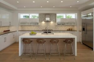 Solid Surface (Corian) Counter Tops