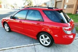 2005 Subaru Impreza S MY06 R AWD Red 5 Speed Manual Hatchback Heatherton Kingston Area Preview