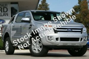 2012 Ford Ranger PX XLT Double Cab Silver 6 Speed Sports Automatic Utility Tweed Heads Tweed Heads Area Preview