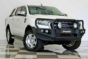 2015 Ford Ranger PX MkII XLT 3.2 (4x4) White 6 Speed Automatic Dual Cab Utility Burleigh Heads Gold Coast South Preview