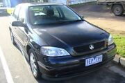 2001 Holden Astra TS Equipe Black 5 Speed Manual Hatchback Briar Hill Banyule Area Preview