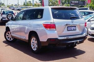 2012 Toyota Kluger GSU45R MY12 KX-R AWD Silver 5 Speed Sports Automatic Wagon Westminster Stirling Area Preview