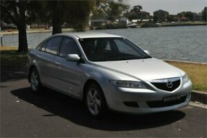 2003 Mazda 6 GG Classic Silver 4 Speed Auto Activematic Hatchback