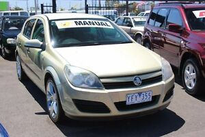 2005 Holden Astra AH MY05 CD Gold 5 Speed Manual Hatchback Heatherton Kingston Area Preview