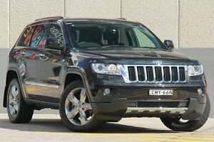 2012 Jeep Grand Cherokee WK MY12 Limited (4x4) Black 5 Speed Automatic Wagon Wolli Creek Rockdale Area Preview