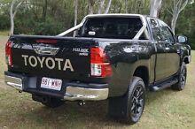 2015 Toyota Hilux GUN126R SR5 Extra Cab Black 6 Speed Manual Utility Bundaberg West Bundaberg City Preview